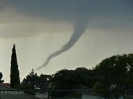 Funnel Cloud over Auckland