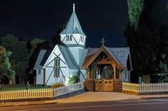 All Saint's Church at night