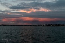 Glowering clouds over Kohimarama
