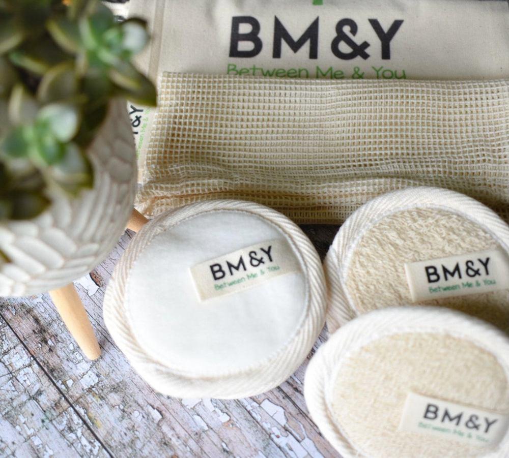 Reusable Bamboo Cotton Makeup Remover Pads