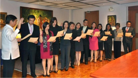 Induction of Officers, Directors and Committee Chairpersons of the Bank Marketing Association of the Philippines (2015-2015)