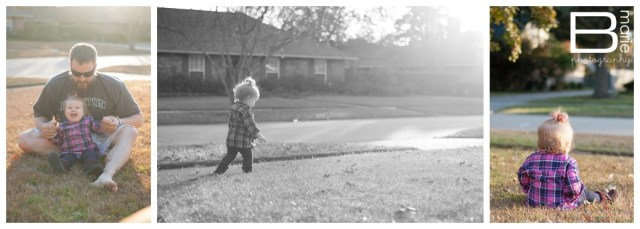 Nacogdoches photographer - family time outside during Thanksgiving break