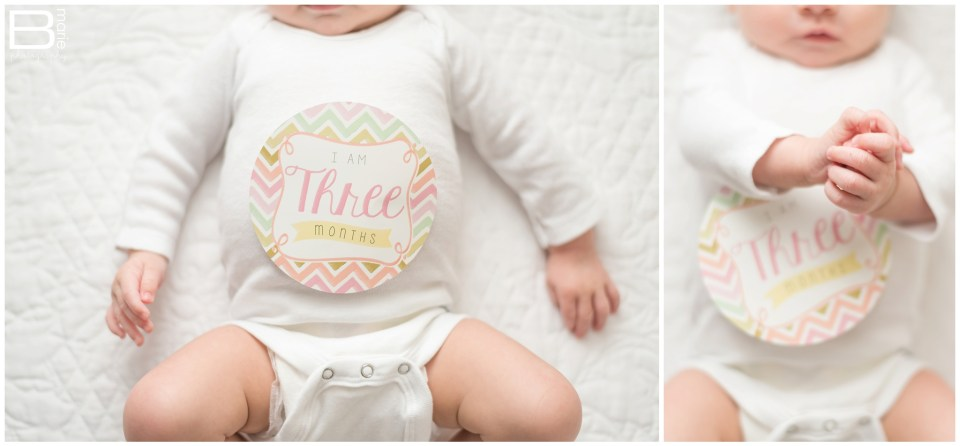 Nacogdoches photographer's images of her three month old daughter, Pumpkin