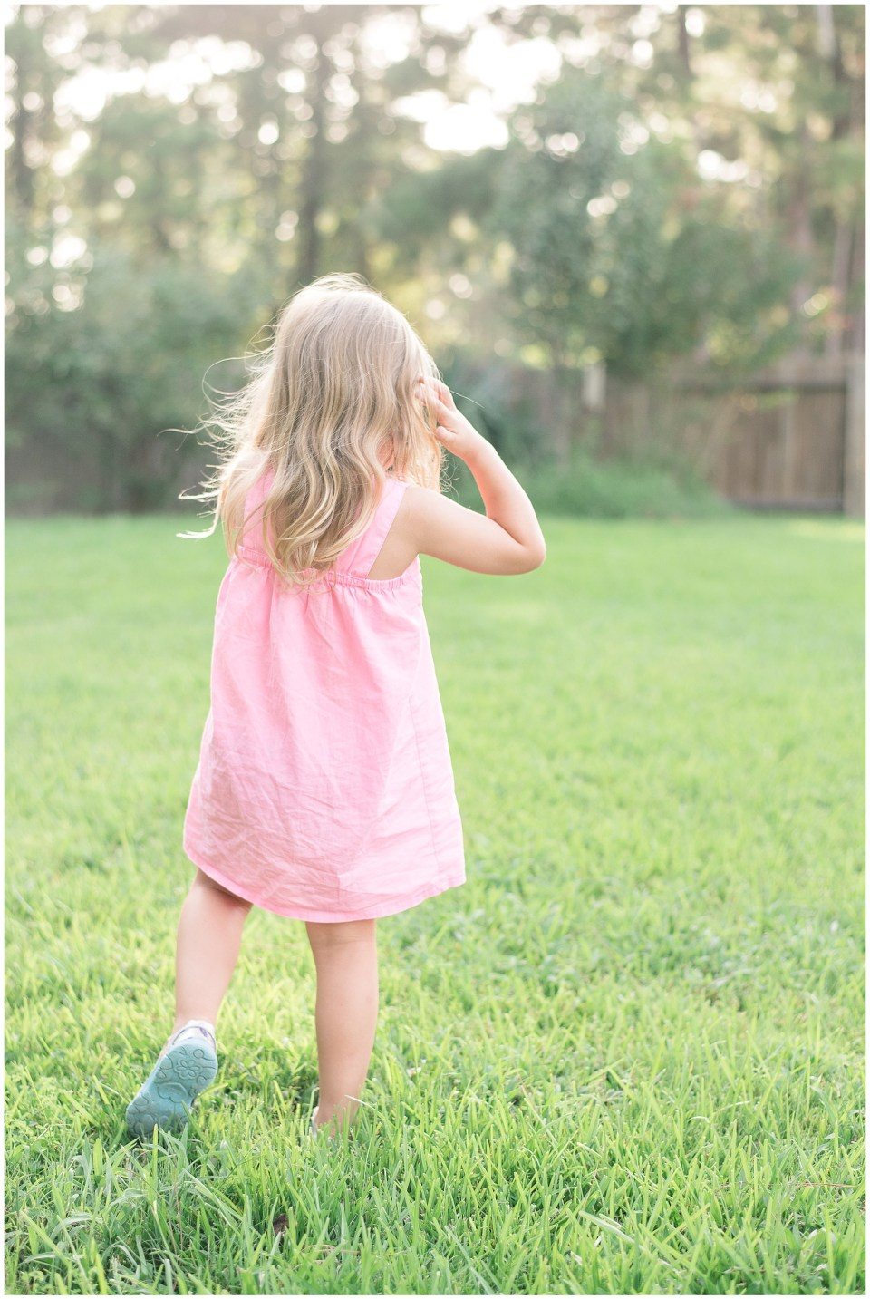 Kingwood child photographer letter to 4 year old daughter