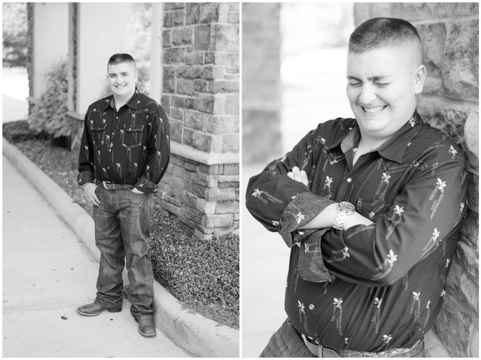 Kingwood senior photographer - fall male senior session