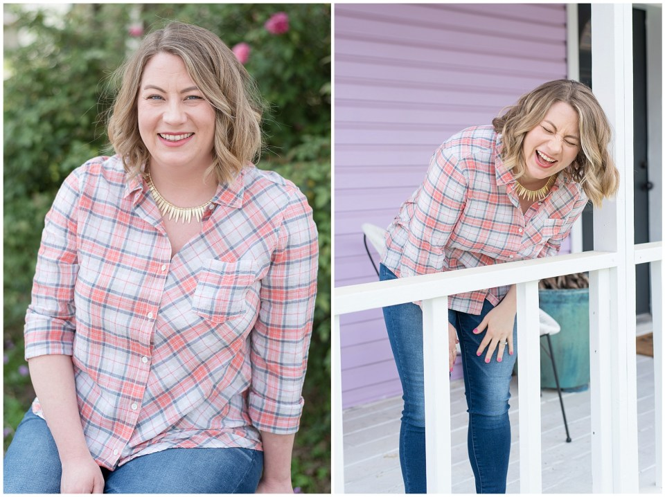 Houston brand photographer - personalized brand images for Skye McLain VA