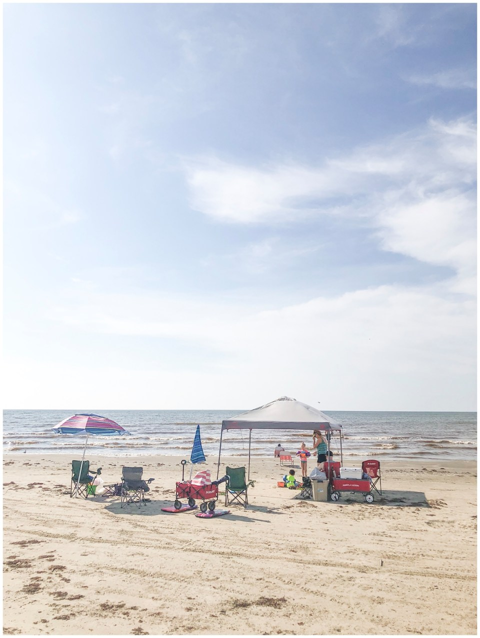 July 2019 extended family beach trip to Galveston, TX