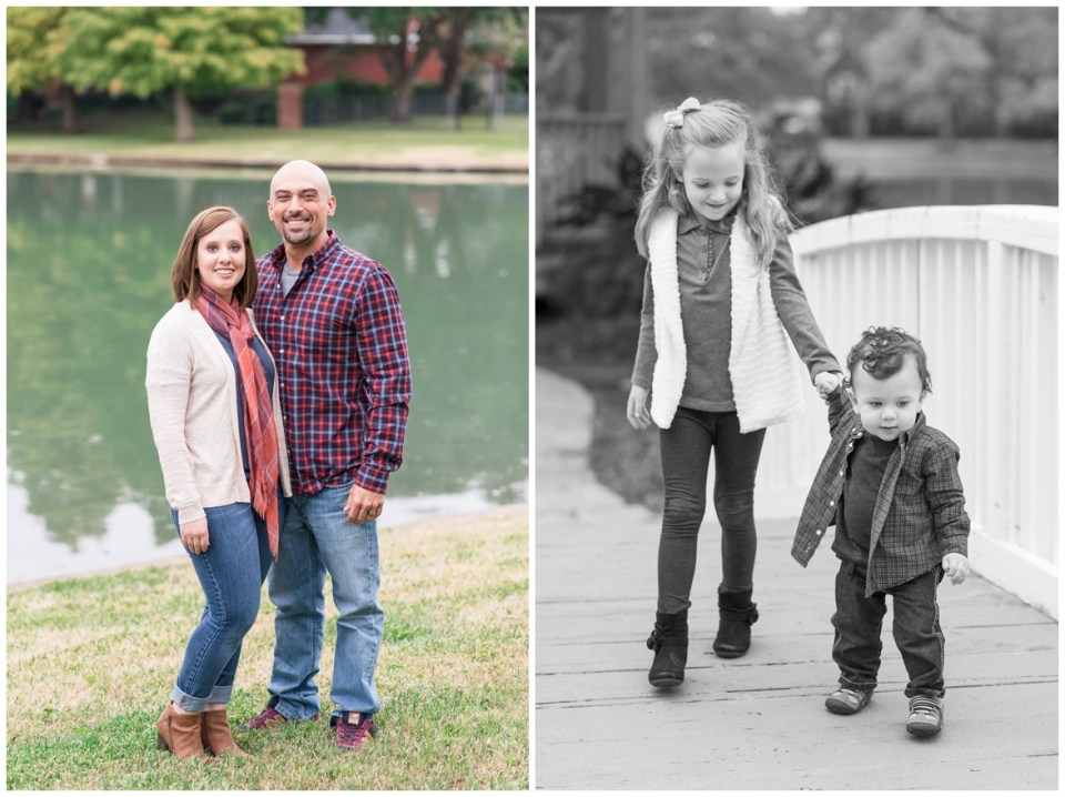 Extended family portrait session in Sugar Land