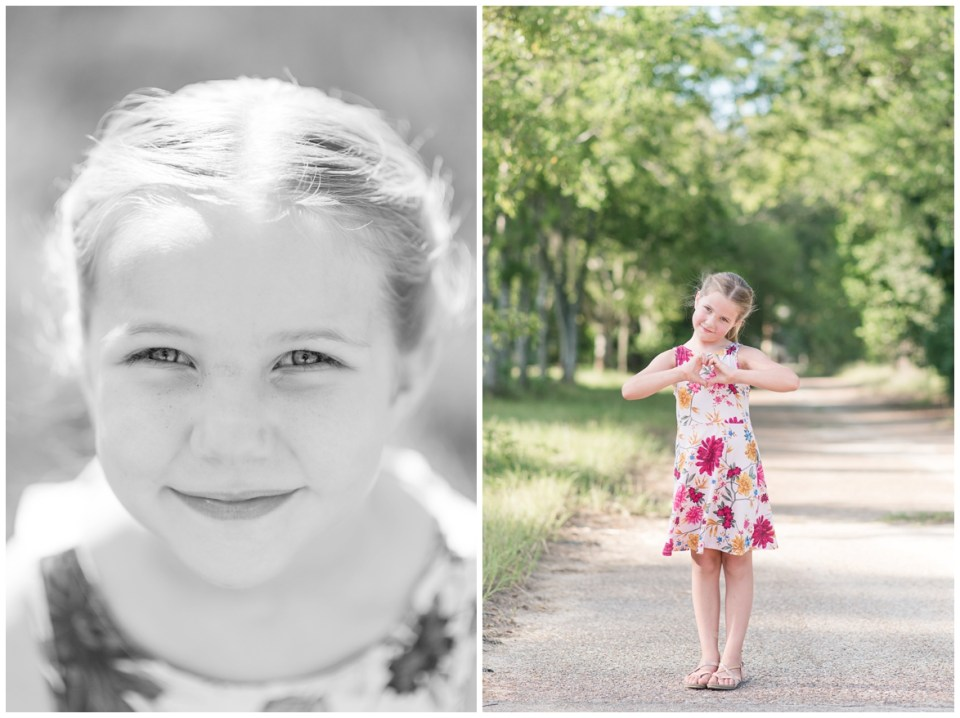 Photos of Kingwood photographer's daughter for 7th birthday