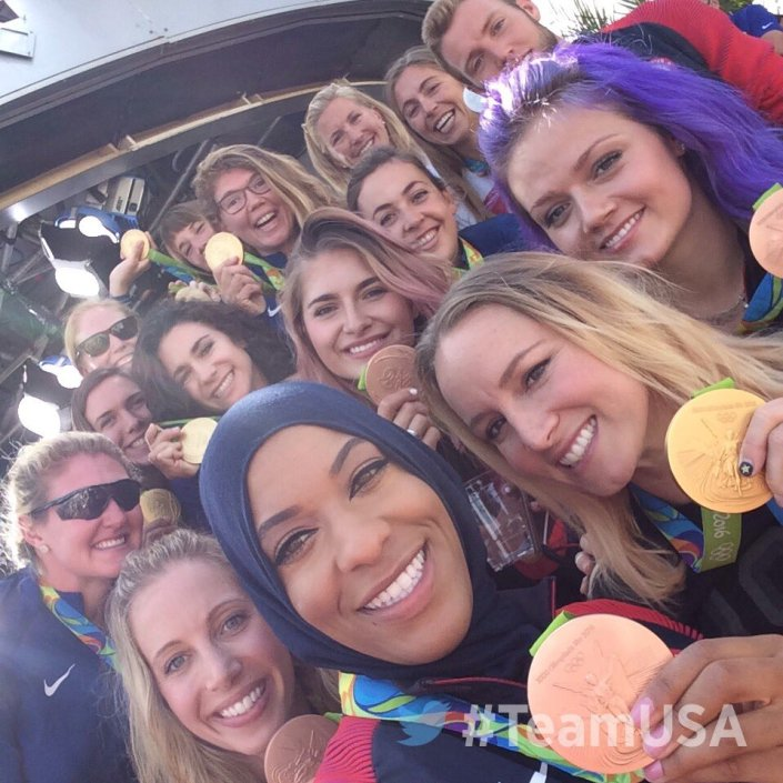 #TeamUSA Selfie at the Today Show