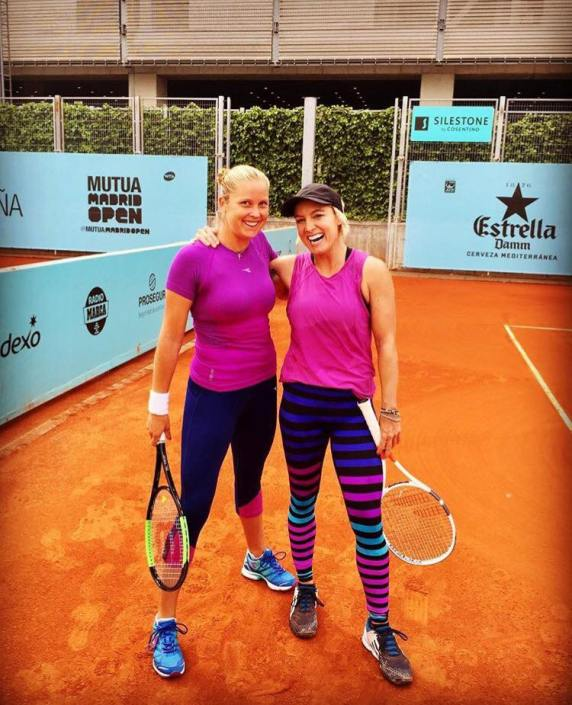 bethanie mattek-sands and shelby rogers clay court