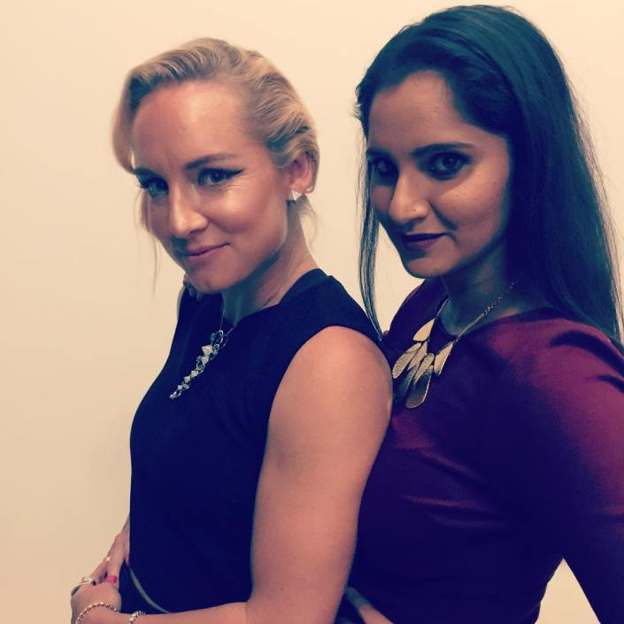 bethanie mattek-sands and sania mirza