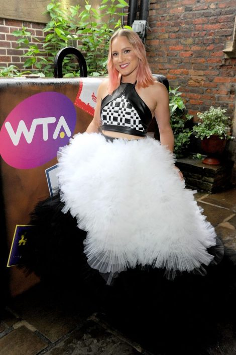 wta pre-wimbledon party london, england