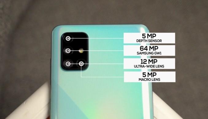 Samsung A71 Main Camera - Bangla Review