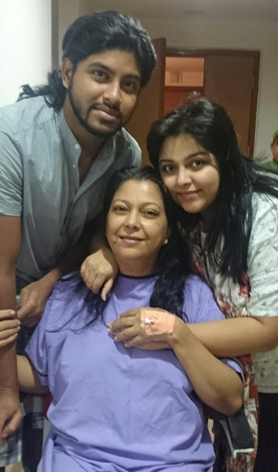 actress diti and her children