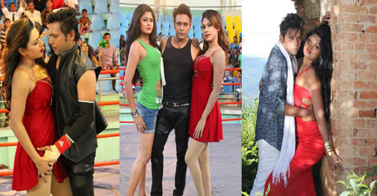 hot photos from blackmail bangla film with bobby moushumi hamid