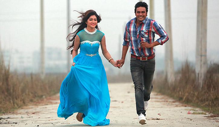 Bhalobashar golpo with anisur rahman milon debutant actress tania and munia afrin 2