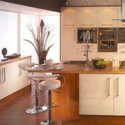 BMDirect Kitchen Cabinet Systems (Glosswalnut)