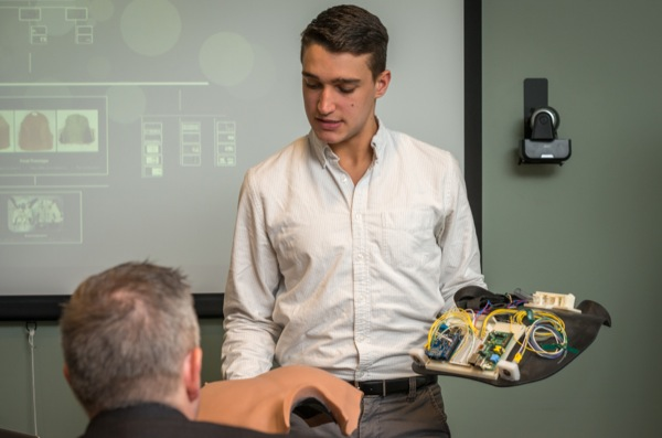 SimuTrach training device invented by engineering students