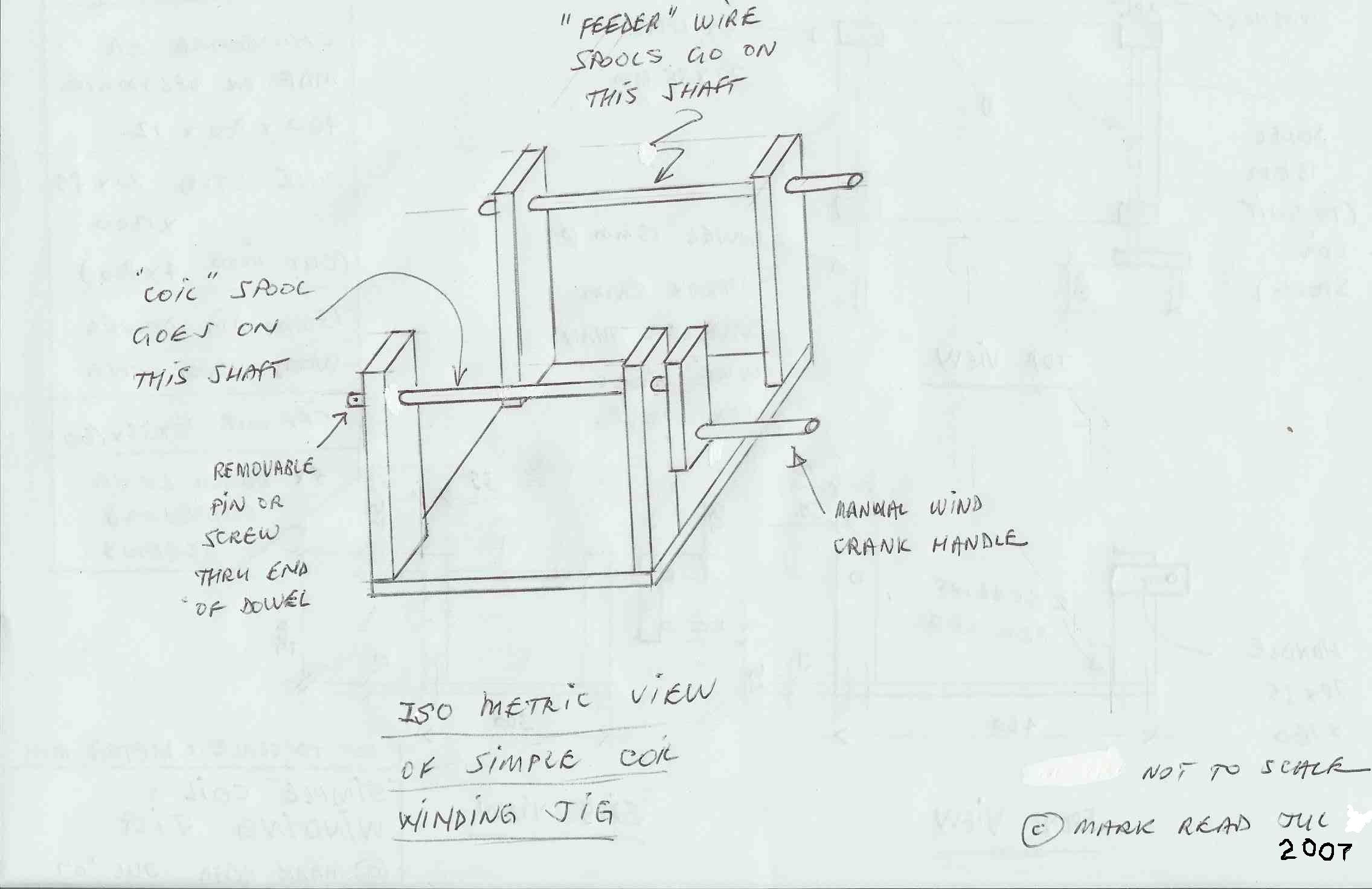 How To Contruct A Simple Coil Winding Jig