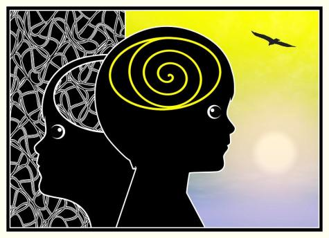 Healing mental disorder like ADHD or autism with meditation