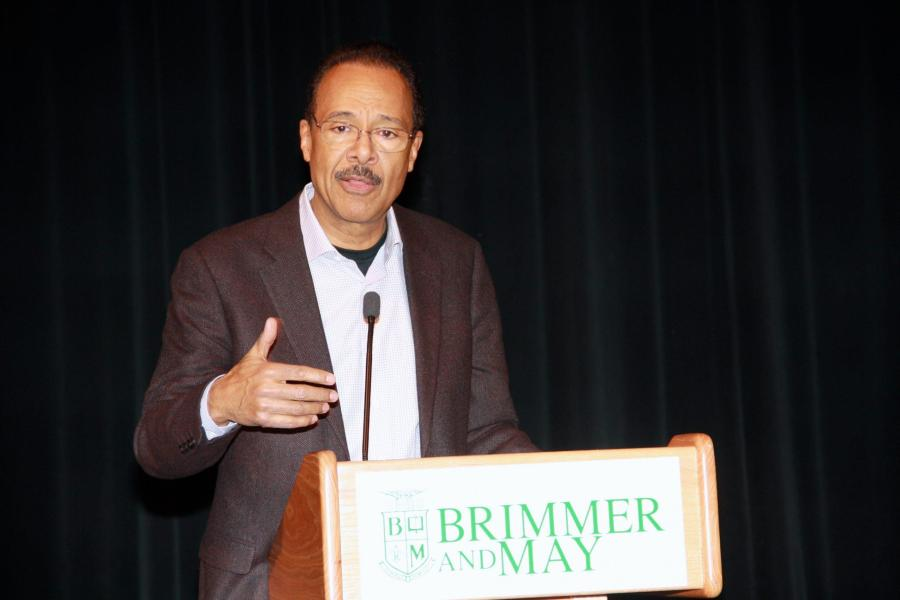 Famed Journalist Gives Black History Month Address