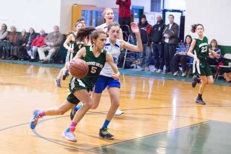 Girls Basketball Loses in Quarterfinals