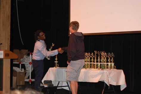 Liam Johansson wins MVP for V. Boys Lacrosse.