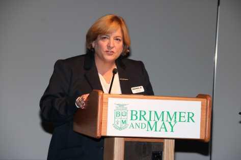 Photo by Jody Weinberg: Head of School Judith Guild.