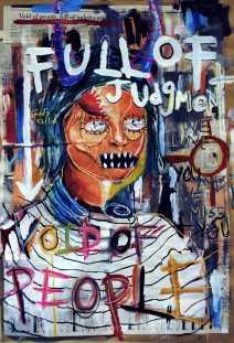 Sofia Coronado, Silver Key - Painting - Full of Judgement