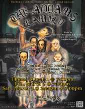 poster for the upper school musical