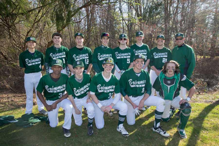 2017 varsity baseball team. Photo by David Barron.