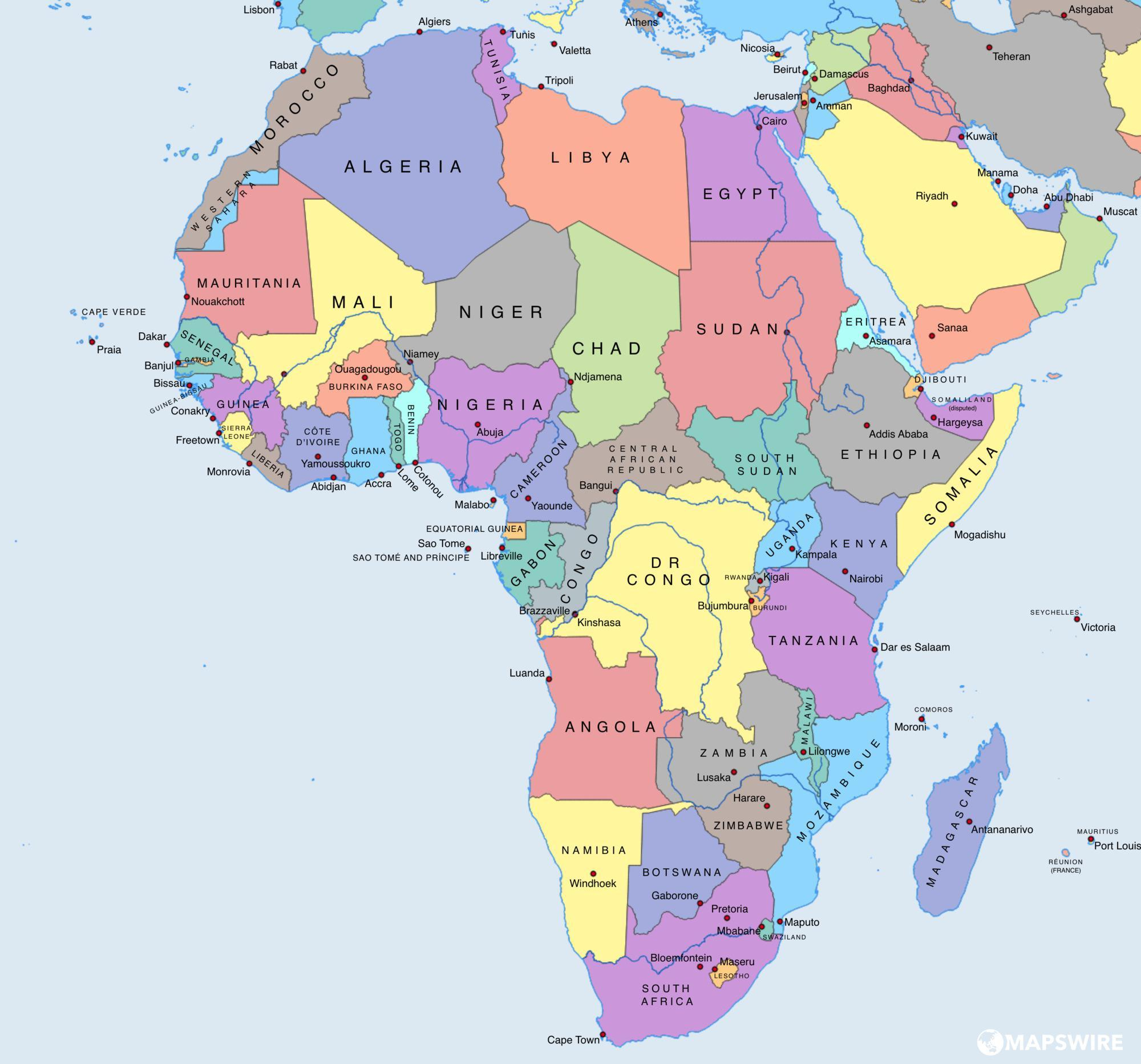 africa-political-map-large