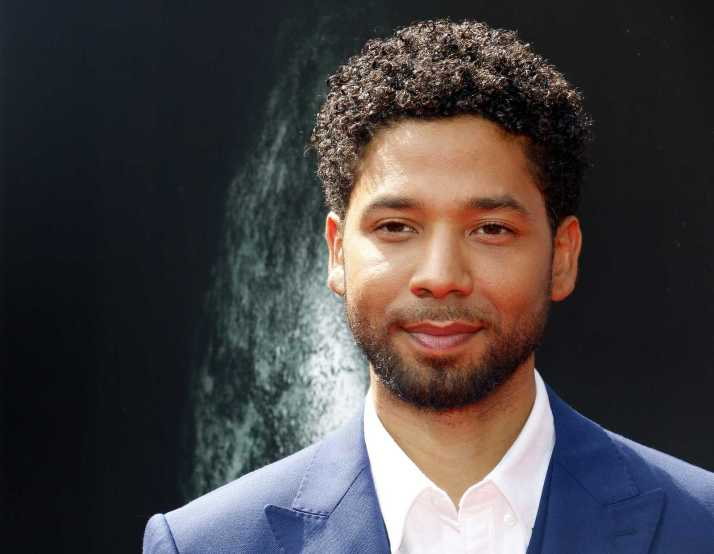 Jussie Smollett at the Los Angeles special screening of 'Alien: