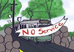 Cartoon illustration by Jennifer Ngo '23.