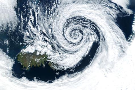 Hurricane from space. Photo purchased from Bigstock.com.