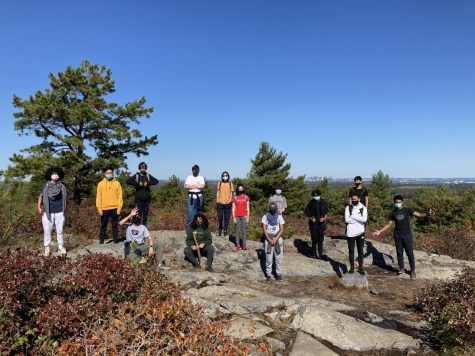 During a field trip to Blue Hills, freshman bond in the early weeks of school. Gator file photo.