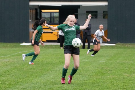Me playing soccer during my sophomore year.