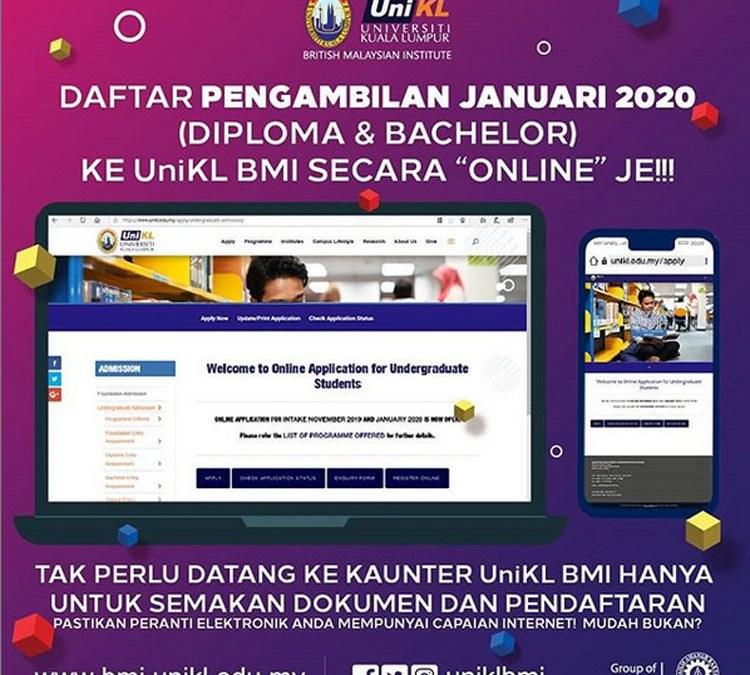 Daftar Pengambilan Januari 2020 Diploma & Bachelor