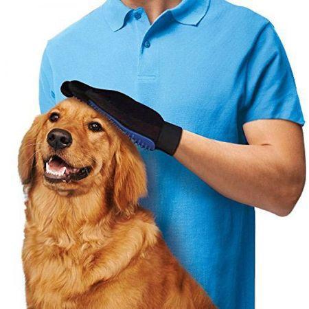 Масажираща ръкавица за косми от домашни любимци