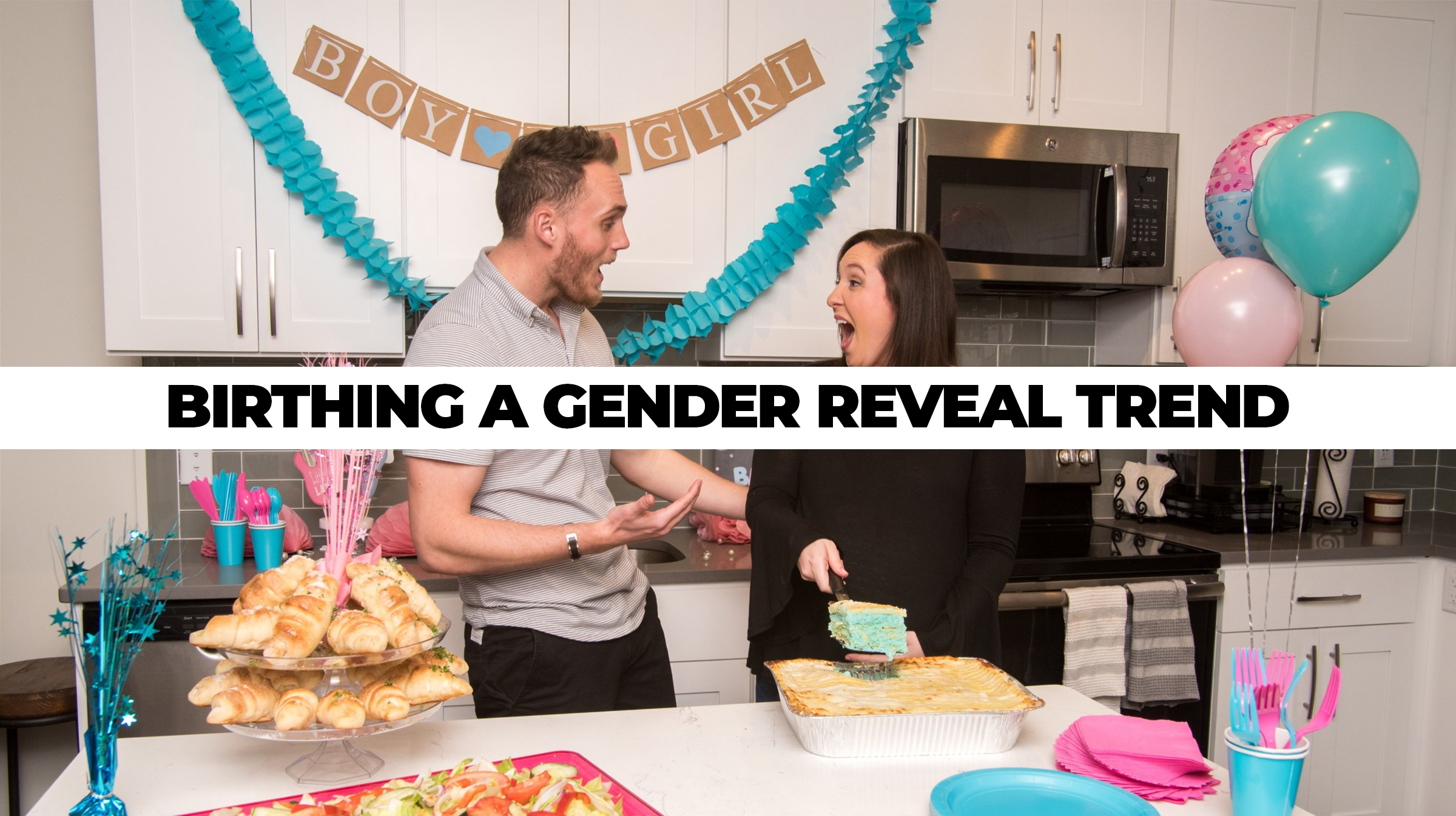 Villa Italian Kitchen's Gender Reveal Lasagna: Product Launch