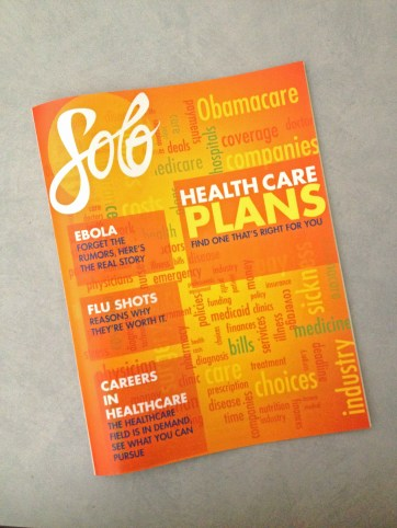 Solo Magazine - Healthcare Issue Cover
