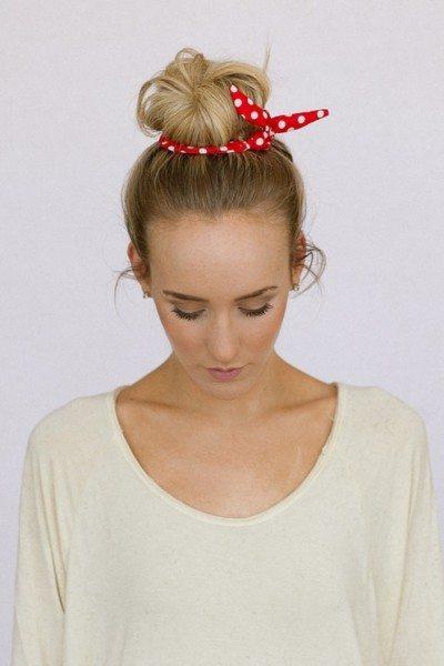 Accessorizing Your Hair Bun Styles Be Modish