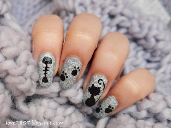 Furry Cat Nail Art Bmodish Dot