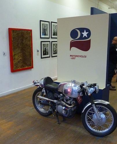 Motorcycles + Art - John Shea - Entrance - 72