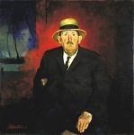Portrait of Tom Rowe 1930 by Hawthorne