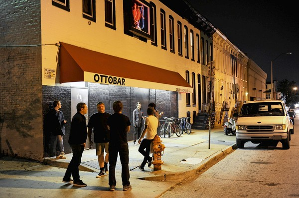 10/20/11 -- Ottobar, 100 best bars in Baltimore. SPECIAL TO THE SUN / COLBY WARE No Mags, No Sales, No Internet, No TV