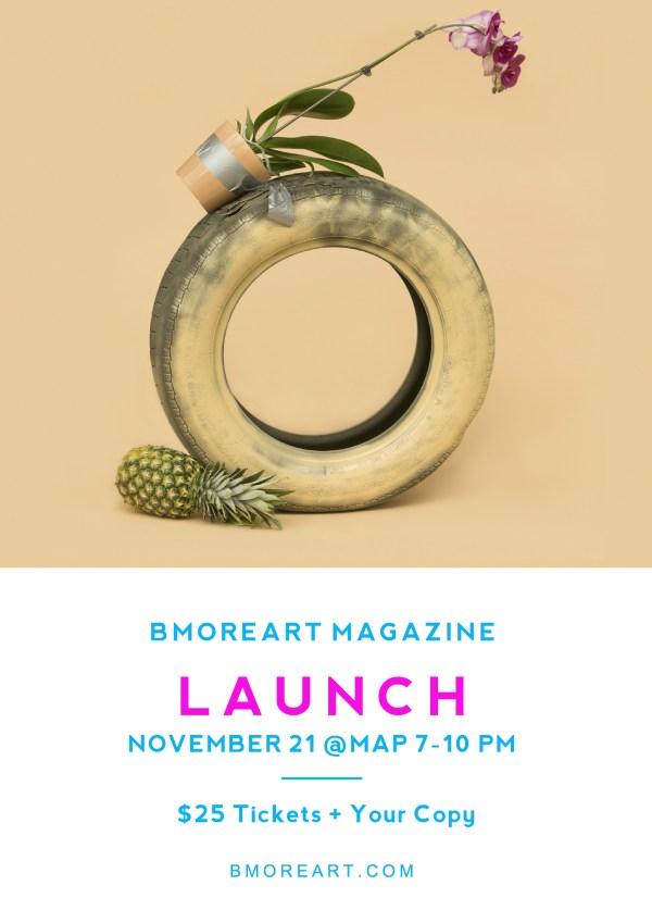 BmoreArt Mag Launch