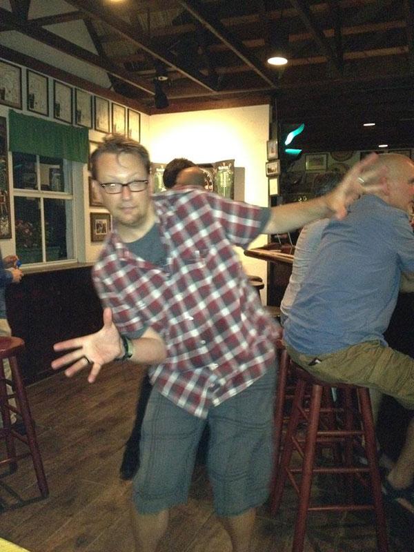 GreggWilhelm-at-Four-Green-Fields-UTMFA-pub-of-choice-Tampa-2013-2