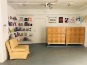 ICA Reading Room and Flat File